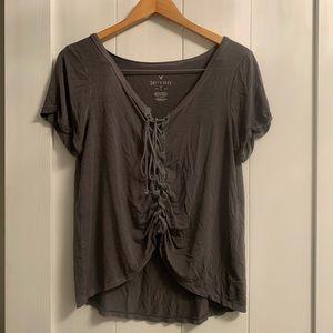 AE corset T-shirt